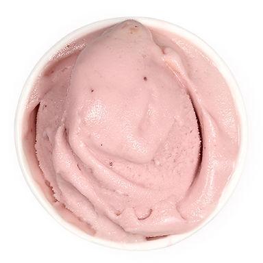 Pomegranate nice-cream