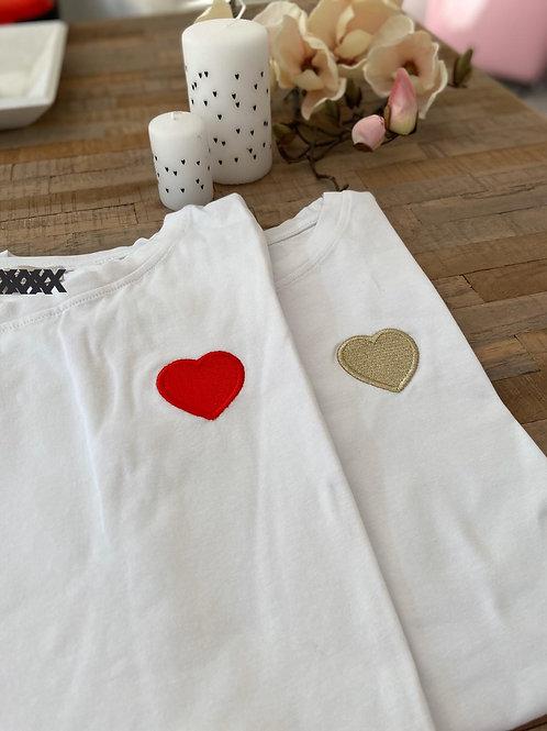 T-Shirt mit Herz