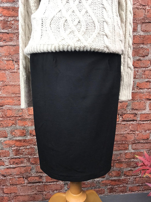 Black Winter Skirt