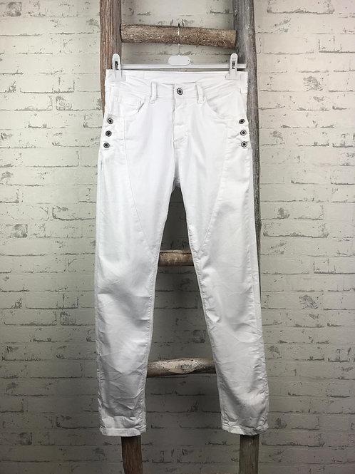 Jog Pant Jeans Buttons
