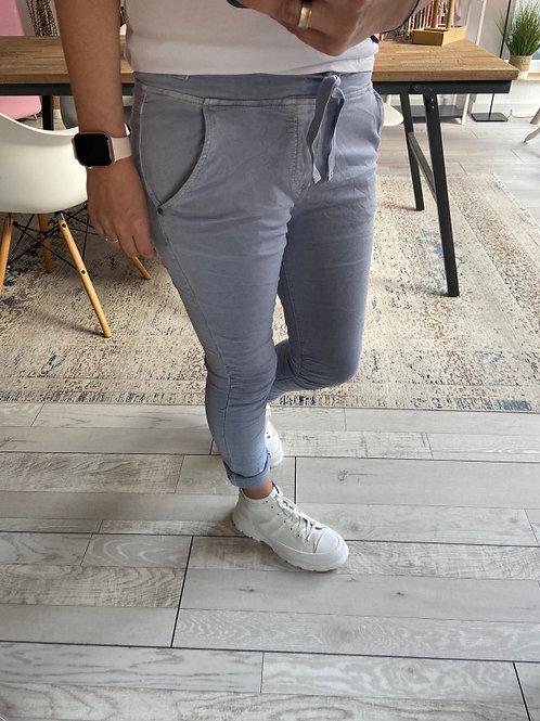 Jog Pant Jeans Pastellblau
