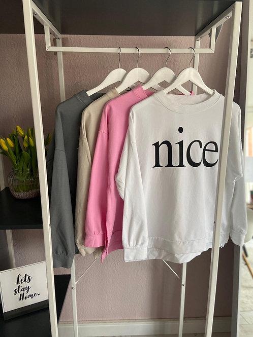 "Sweater ""Nice"""