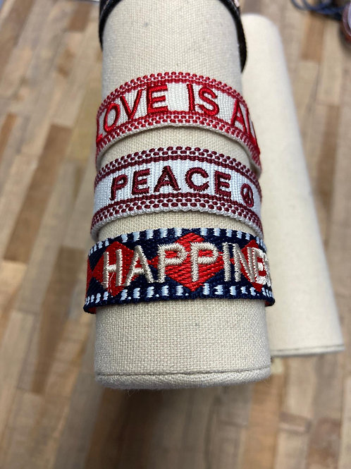 Love, Peace, Happiness