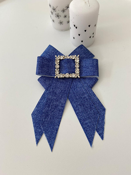 Brosche blue small