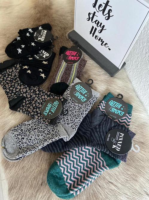"Glitter Socks ""Sonja"""