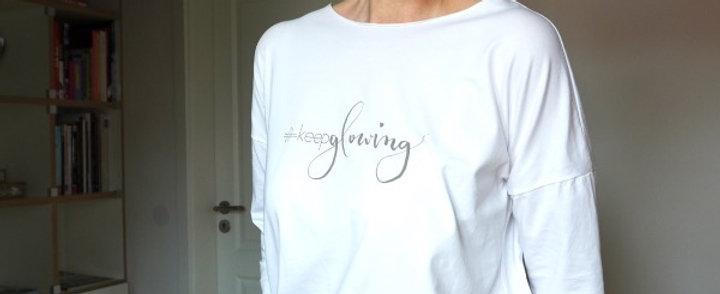 #keepglowing white