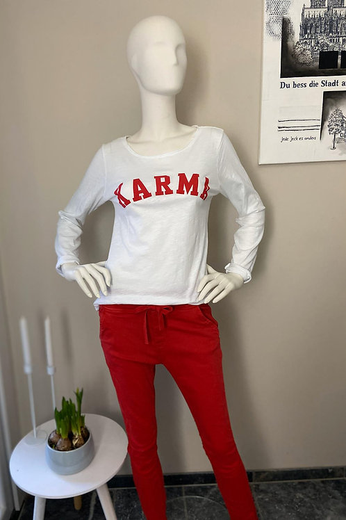 Karma Longsleeve Red
