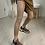 Thumbnail: Deluxe light Cognac Lederoptik Leggings
