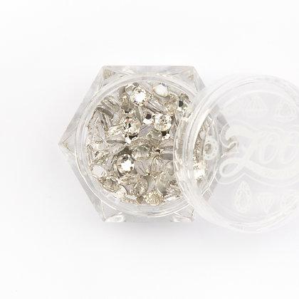 Стразы стеклянные №1085 прозрачные SS16 (4 мм) 100 шт