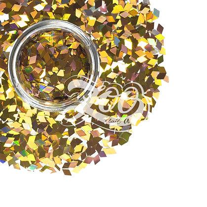 Ромбики для дизайна Zoo (бронзовые) №1146