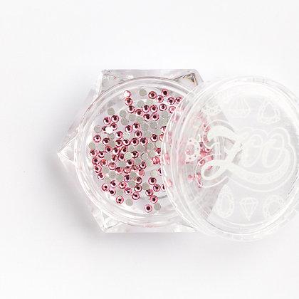 Стразы стеклянные №1126 Rose SS3 (1.3 мм) 100 шт