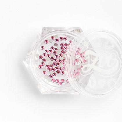 Стразы стеклянные №1127 Rose SS4 (1.5 мм) 100 шт