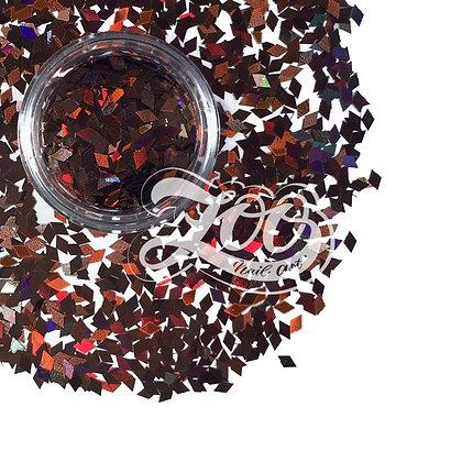 Ромбики для дизайна Zoo (коричневые) №1148