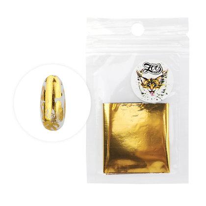 Фольга переводная Zoo №1416 глянцевая золото