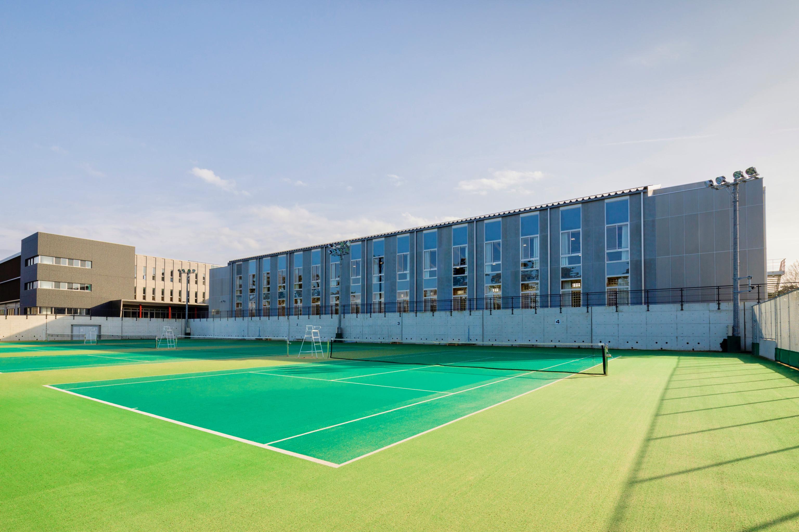 輪島中学校 屋内運動場