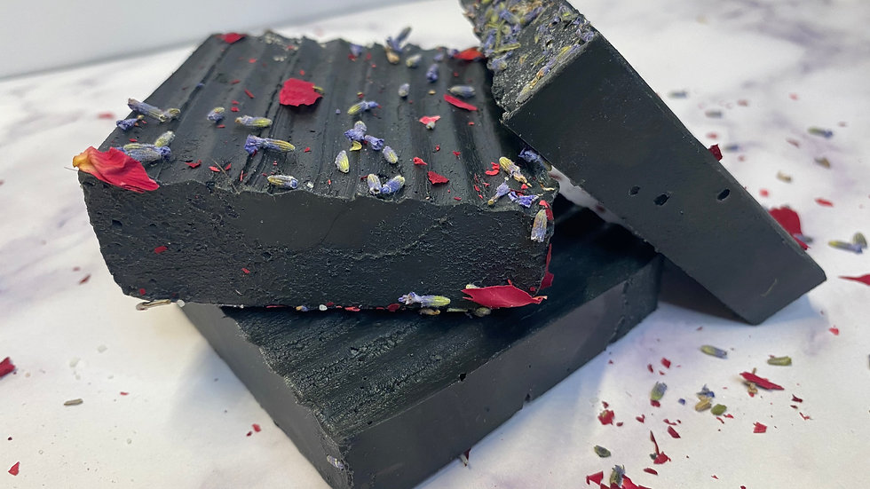 Activated Charcoal & Peppermint Bar