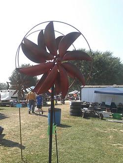 Beaded Bloom Windmill