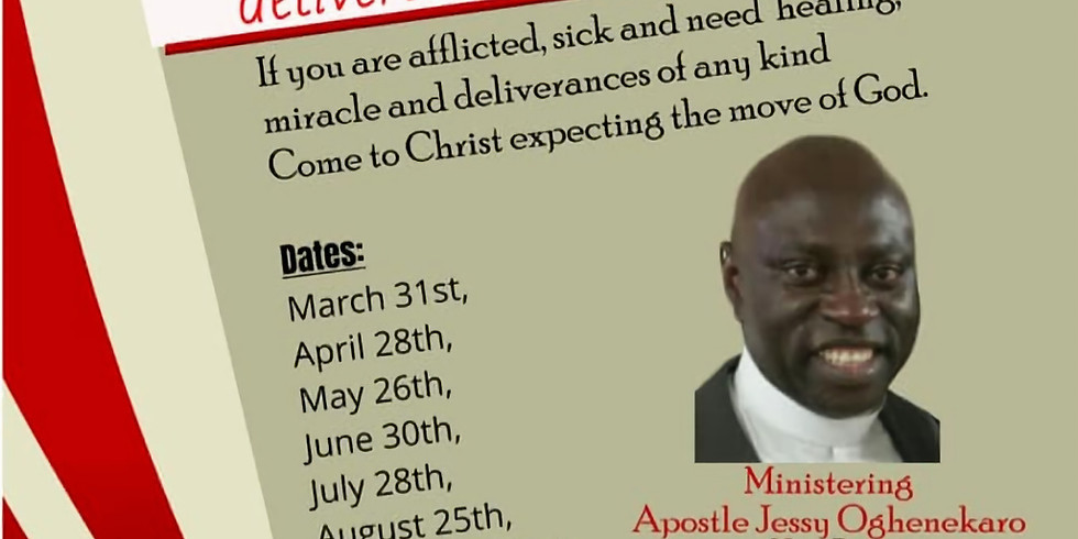 The Healing, Miracle, and Deliverance Service