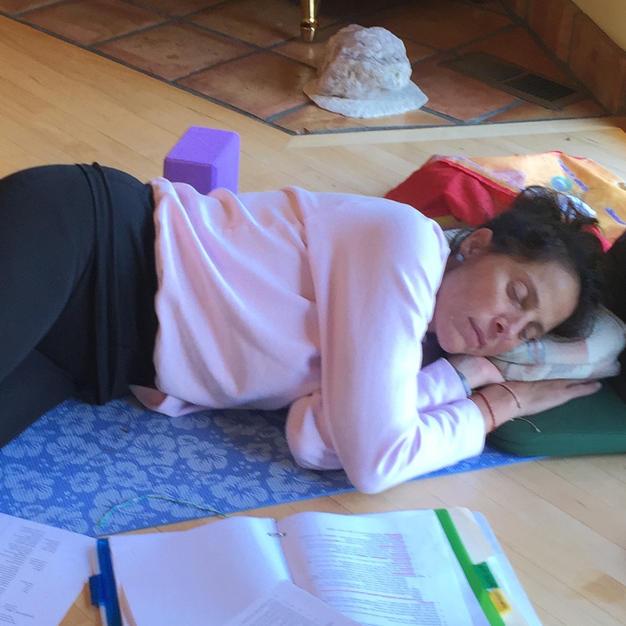 Laura Sleeping