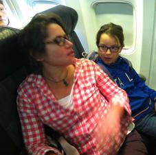 Stuck on a plane