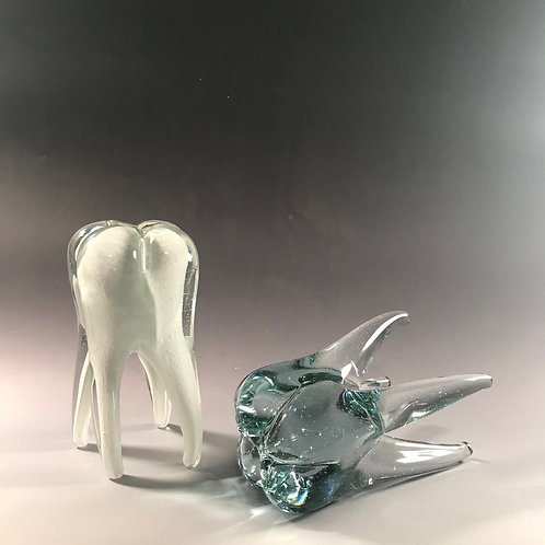 Solid Glass Large Teeth