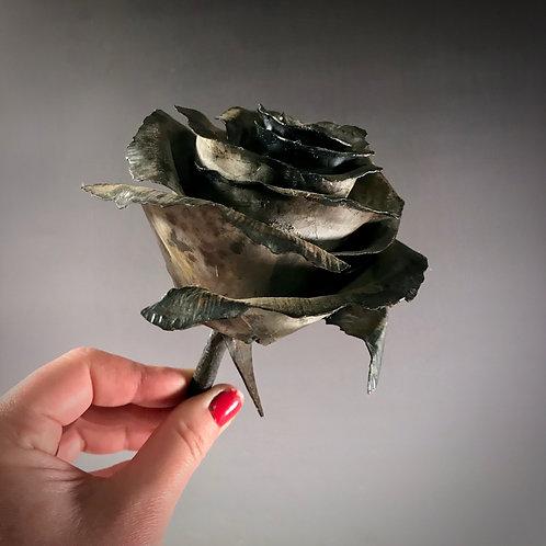 Recycled Metal Rose