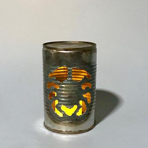 Tin Can Jack-o-lanterns Spider