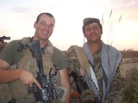 Eric in Afganistan