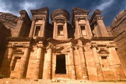 The monastery....