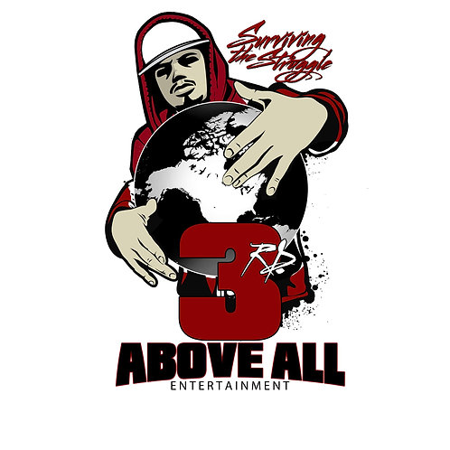 3rd Above All Entertainment T-SHIRT T-SHIRT (RED)