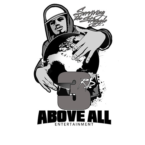3rd Above All Entertainment T-SHIRT T-SHIRT (SILVER)
