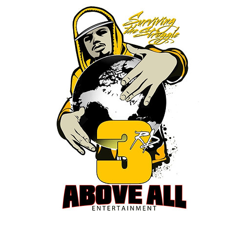 3rd Above All Entertainment T-SHIRT T-SHIRT (YELLOW)