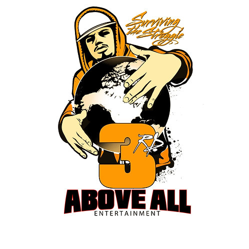 3rd Above All Entertainment T-SHIRT (GOLD)
