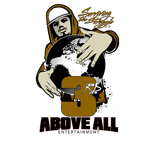3rd Above All Entertainment T-SHIRT T-SHIRT (BROWN)