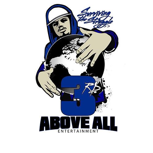 3rd Above All Entertainment T-SHIRT T-SHIRT (BLUE)
