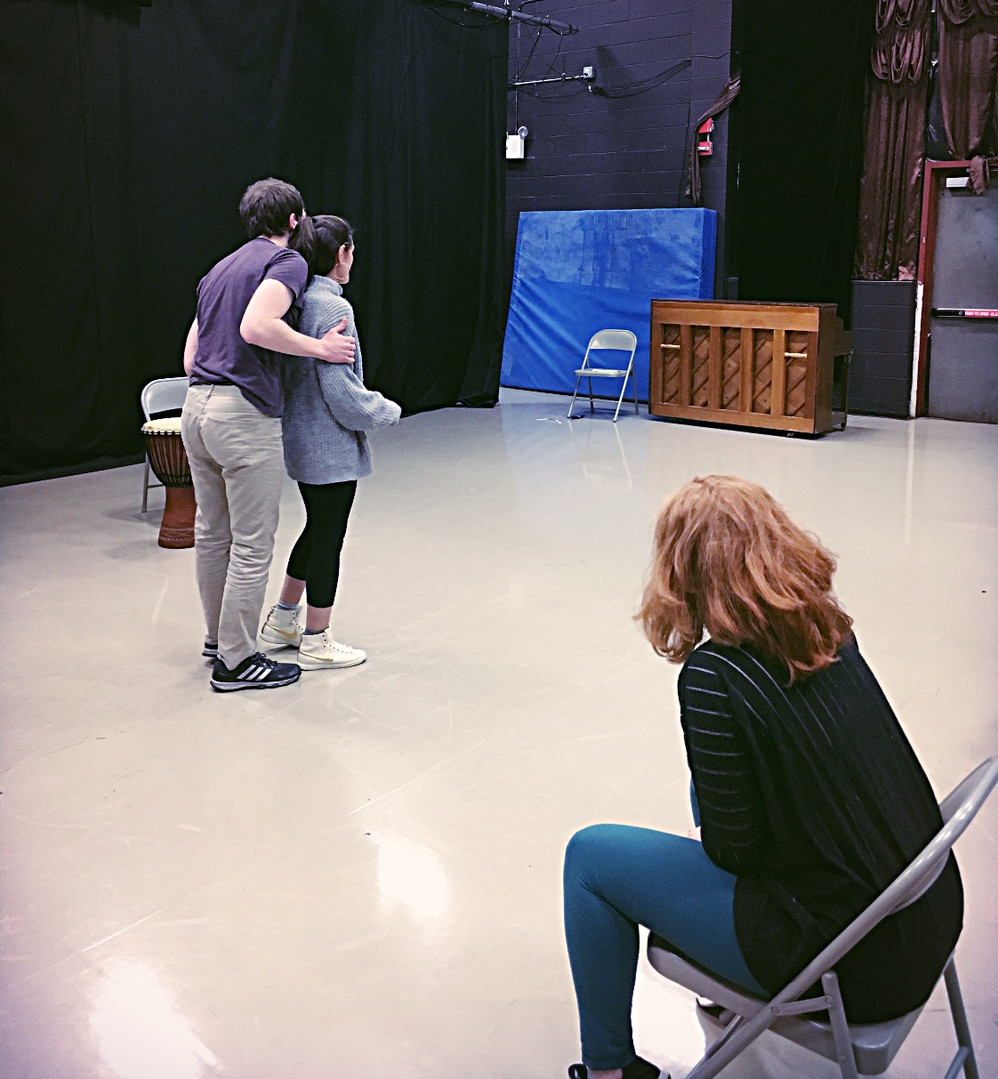 Rehearsal for Lysistrata Jones