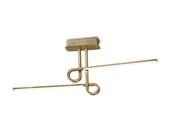 6127 Plafon Cinto Dourado