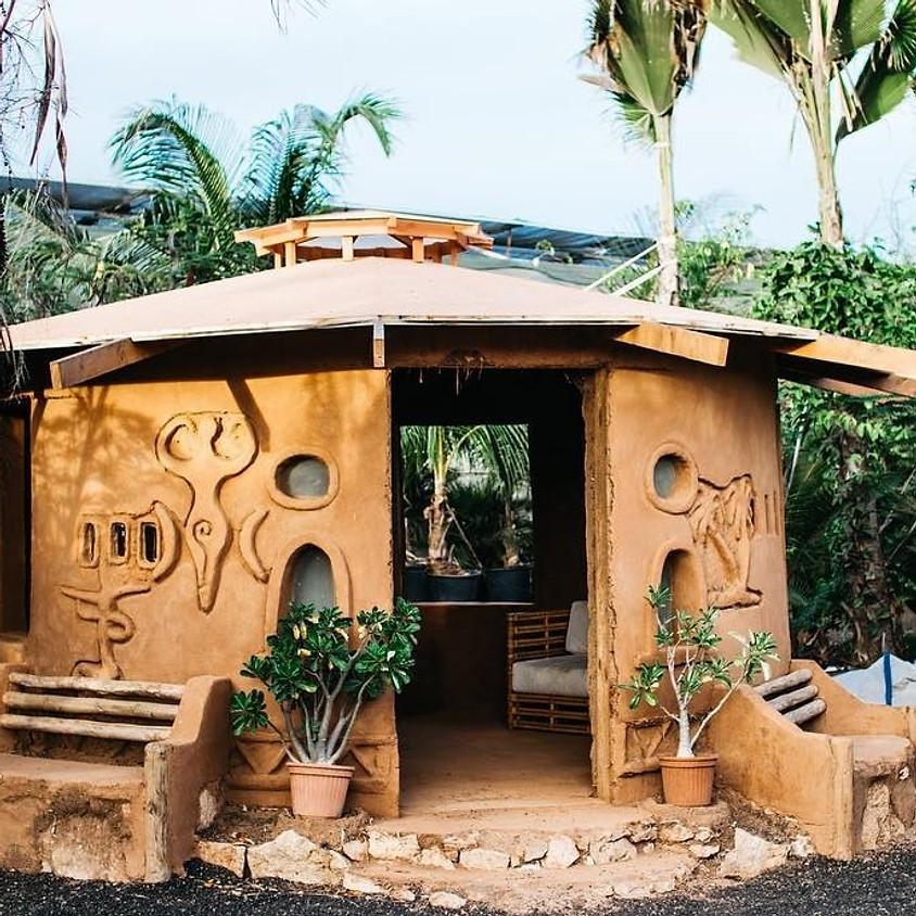 Cozy Colorado Cob Cottage Build