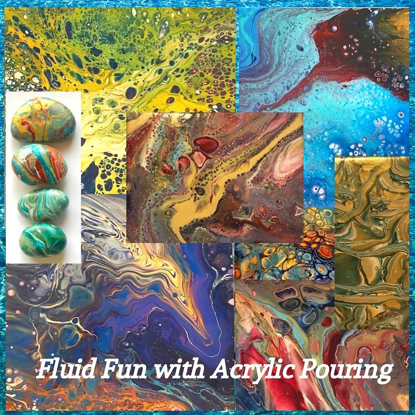 Fluid Fun with Acrylic Pouring