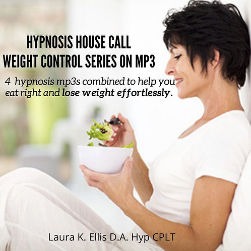 Hypnosis House Call - Weight Loss  4 mp3 set