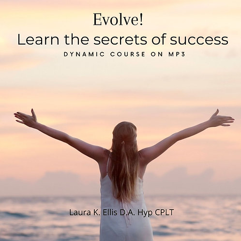 EVOLVE!  Learn the secrets to success  mp3 course