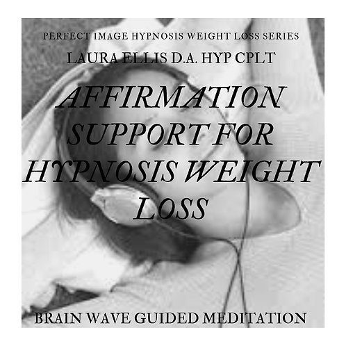 Affirmations to Support Hypnosis Weight Loss