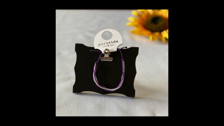 Puravida Purple Bracelet