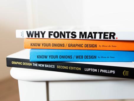 6 Graphic Design Book Recommendations