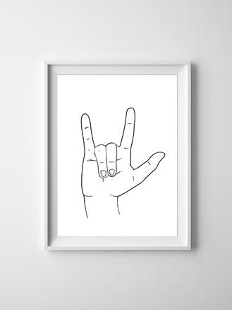 I Love You ASL