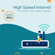 Fast Internet Digital Ad