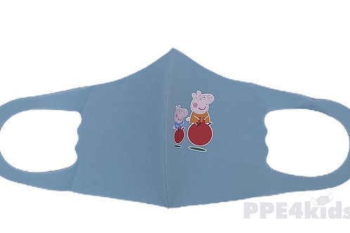 Play Time Peppa Kids Face Mask