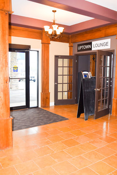 Main Entrance & Uptown Lounge Entrance