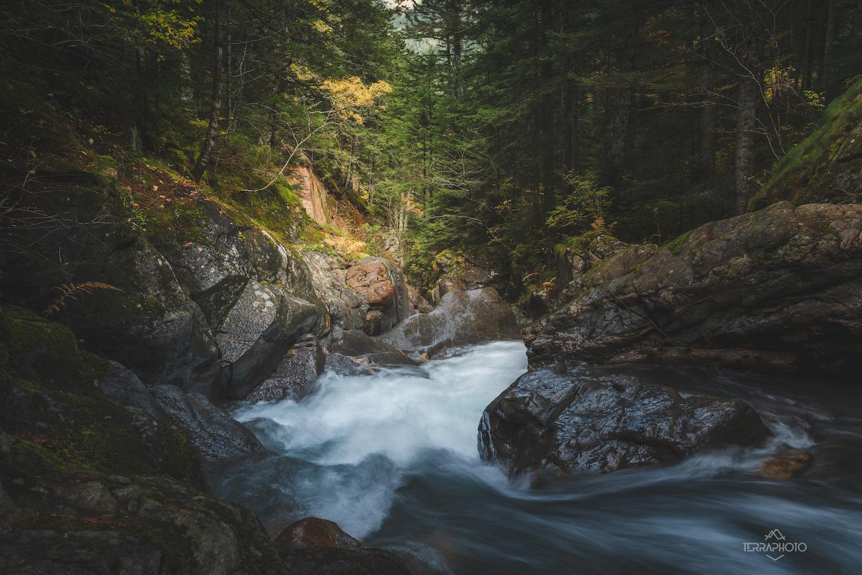 Cascade Rioumajou Hautes-Pyrénées