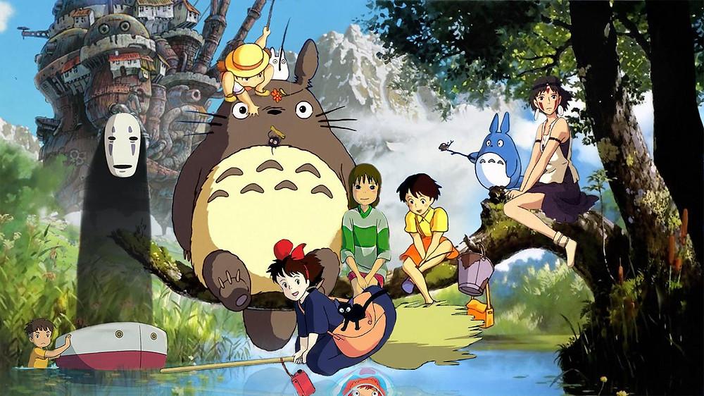 Personajes reconocidos de Studio Ghibli